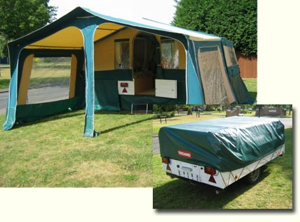 Towing made easy & Folding Camper and Trailer Tent
